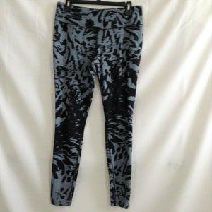 Nike Womens Gray Black Athletic Pants Size Large